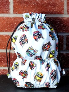 Large drawstring bag